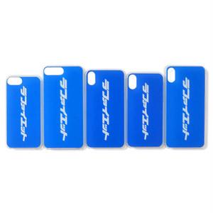 "Lafayette(ラファイエット)""Lafayette ラファイエット KATAKANALOGO iPhone CASE""[BLUE]"