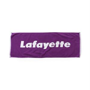 "Lafayette(ラファイエット)""Lafayette ラファイエット LOGO JACQUARD TOWEL""[PURPLE]"