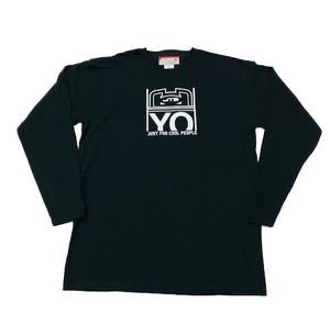 【JTB】 YOロゴ ロングスリーブTシャツ【ブラック】【再入荷】イタリアンウェア【送料無料】《M&W》