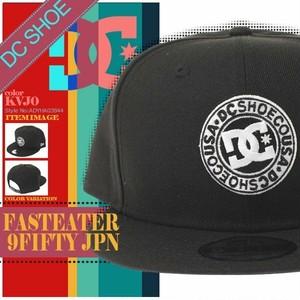 ADYHA03844 ディーシー キャップ 帽子 NEW ERA メンズ FASTEATER 9FIFTY JPN 人気ブランド 通販 旅行 入学 プレゼント ハイキング 黒 DC SHOE