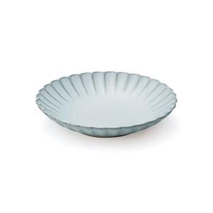 「花 hana」プレート 皿 16cm M みずはだ 瀬戸焼 288134