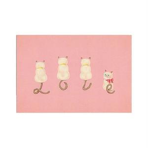 "『LOVE KITTENS』""LOVE""-Pink ポストカード"