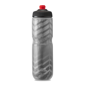POLAR BOTTLE / Bolt 24oz / Charcoal/Silver