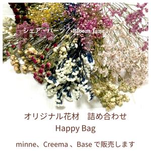 オリジナル花材 Happy Bag  ナチュラルドライフラワー小分けセット