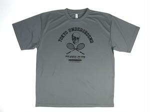 TUTC DryTシャツ グレーxブラック TS-001