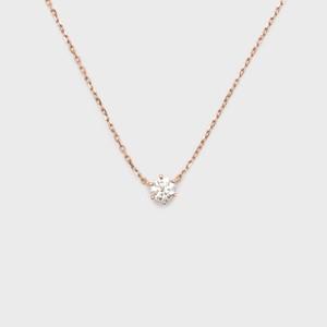 ENUOVE frutta Diamond Necklace K18PG(イノーヴェ フルッタ 0.25ct K18ピンクゴールド ダイヤモンドネックレス アジャスターワカンチェーン)