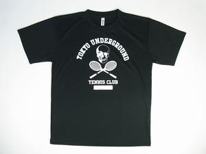 TUTC DryTシャツ ブラックxホワイト TS-001