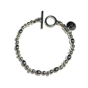 STEADY HIGH/ステディハイ Silver Beads bracelet-D