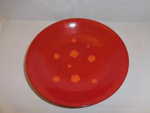 梅模様漆器 Urushi lacquer box (plum)
