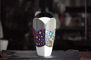 Art Deco Style Vase by Jane Osborn Smith for Rosenthal