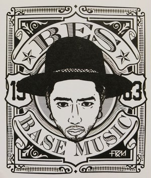 BES BASE MUSIC STICKER
