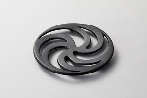 鍋敷・渦輪