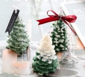 クリスマスツリー(小)立体 シリコンモールド