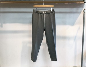 "FLISTFIA""Cropped Trousers Charcoal Gray"""