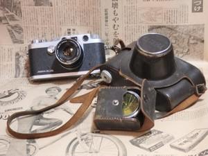 希少・プレミア品 フィルムカメラ 革カバー付き YASHICA YE シャッターOK ヤシカ