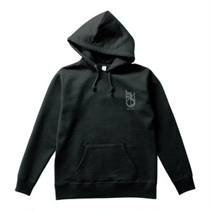 LOGO PULL OVER : Black