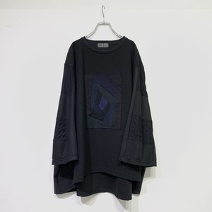Wide-T-shirts PW(black)