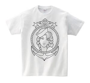 Sailor Girl Tシャツ Anchor