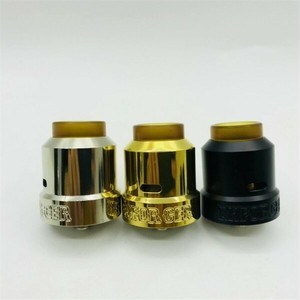 Enforcer by Purge Mods【CLONE】【送料無料】【カラー各種】【28MM】【810 ULTEM Widebore Drip Tip】【5mm Deep Juice Wells 】【RDA】