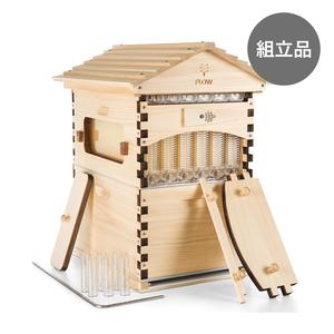 フローハイブ クラシック 天然木アローカリア 6枠入りセット(西洋ミツバチ用)【組立用】