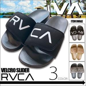 BB041966 ルーカ シャワーサンダル メンズ 通販 人気 ビーチ 海 リゾート プール 旅行 プレゼント おしゃれ かっこいい ロゴ 黒 ベージュ 灰色 RVCA