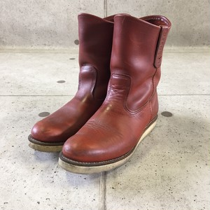 RED WING PECOS BOOTS size:27.5cm
