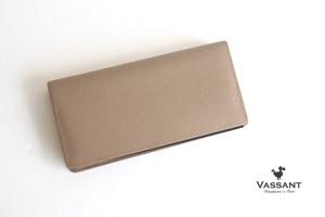 ヴァサン|VASSANT|グレインレザー×アリゲーターロングウォレット|長財布
