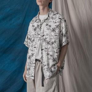 ドローイングアロハシャツ BL5733