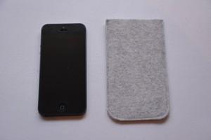 iphone フェルトケース(color:gray)