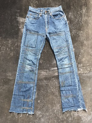 HYSTERIC GLAMOUR / Flared denim pants