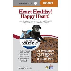 【アークナチュラルズ】ハッピー ハート 心臓サポート トリーツサプリ 120g 犬猫用