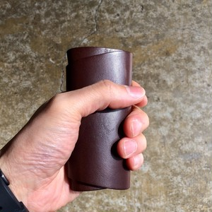 「KEY CASE Brown」 Italy Leather