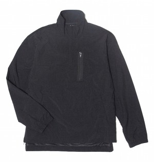 Nylon Warm Up Jacket (Black)