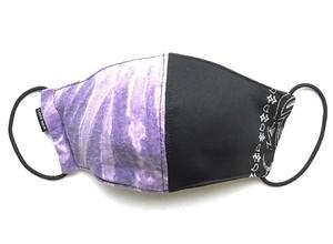 【デザイナーズマスク 吸水速乾COOLMAX使用 日本製】 PAISLEY × TIE DYE MASK CTMR 0918050