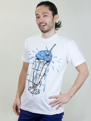 Creamsoda T-shirt Blue