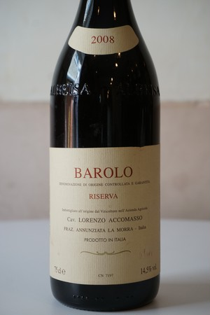 Barolo Riserva 2008 / Accomasso( バローロ / アッコマッソ )