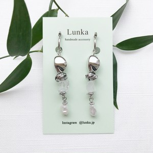 Silver motif pierce / earring