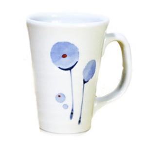 砥部焼 マグカップ(ポピー)