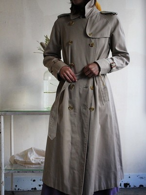 70s Burberry trench coat