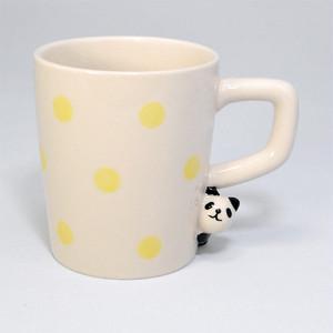のぞき見マグカップ パンダ