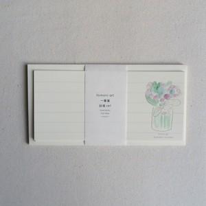 NEW!! 一筆箋 封筒set Yuji Abe 〜iroiro〜