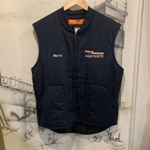 RED CAP work vest