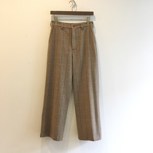 C-30385 Tweed Straight Pant