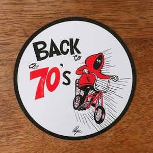 Back to the 70's ステッカー