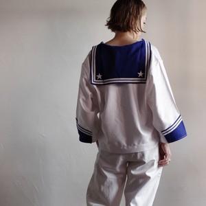 Italian Navy Sailor Shirt / Re size / イタリア海軍 セーラーシャツ
