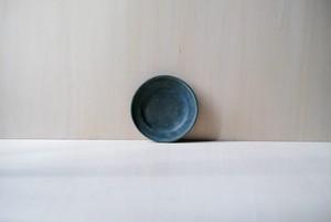 ラウンドリムプレート / S / vintage indigo