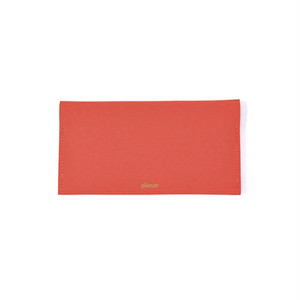 Wallet L -Red Plain-