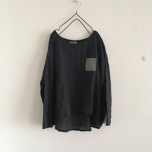 daily pullover 墨黒