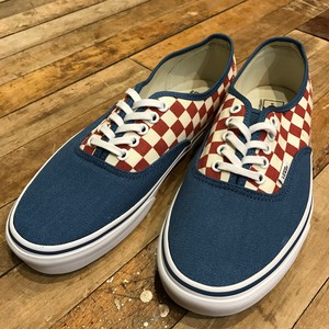 VANS バンズ 50th Authentic CHECKERBOARD / BLUE ASHES