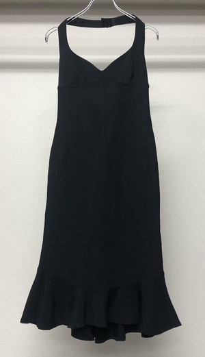 1990s D&G HALTER NECK DRESS